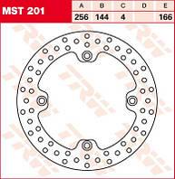 LUCAS MST201 - Тормозной диск
