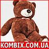 Плюшевый мишка, медведь 2 метра - бурый
