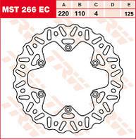LUCAS MST266EC - Тормозной диск