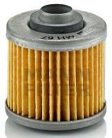 MANN MH 67 - Фильтрующий элемент масляного фильтра