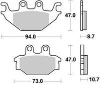 BR 923SM1 - Тормозные колодки