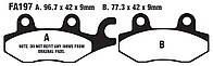EBC FA197 - Тормозные колодки