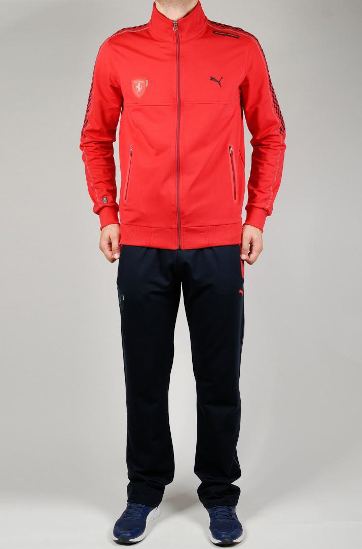Спортивный костюм PUMA FERRARI 21183 красный
