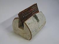 Визитница деревянная «береза»