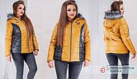 Женская куртка (46,48,50,52,54,56) — Синтепон 150 от компании Discounter.top
