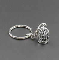 Брелок у вигляді клітки для птахів метал SKU0000822, фото 1