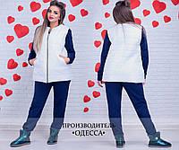 Женская куртка (48-50, 50-52, 52-54, 54-56) — Синтепон 100 от компании Discounter.top