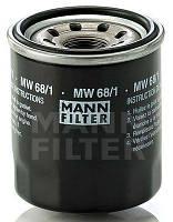 MANN MW 68/1 - Фильтр масляный
