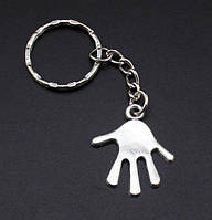Брелок в виде руки (раскрытая ладонь) металл SKU0000823, фото 1