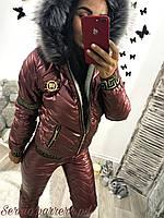 Женский костюм (42,44,46,48,50) — Синтепон 200 от компании Discounter.top