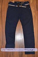Утепленные коттоновые брюки на флисе для мальчиков-подростков, фото 1
