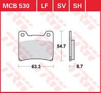 LUCAS MCB530 - Тормозные колодки