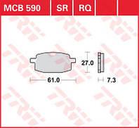 LUCAS MCB590 - Тормозные колодки