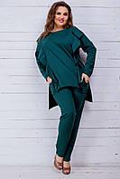 Спортивный костюм (42-44, 46-48,50-52,54-56,58-60) —   двунитка  купить оптом и в Розницу в одессе 7км