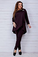 Спортивный костюм (46-48, 50-52, 54-56, 58-60) —   двунитка  купить оптом и в Розницу в одессе 7км