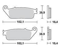 BR 748SM1 - Тормозные колодки