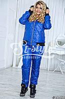 Женский лыжный костюм (42,44,46,48,50,52) — плащовка синтепон 200 купить оптом и в розницу в одессе  7км