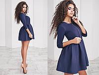Платье (42,44,46) —  замш на дайвинге купить оптом и в розницу в одессе  7км