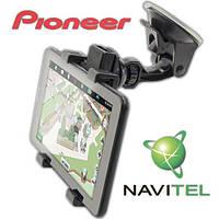 3 в 1 Pioneer DVR700PI GPS навигатор 1+8 GB 2 сим IPS Android 5.1 Navitel Подарки
