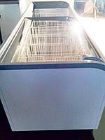 Морозильные лари с гнутым стеклом бу AHT Paris 250(-)AD