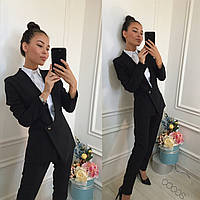 Женский костюм (42,44,46) —костюмка от компании Discounter.topдессе  7к