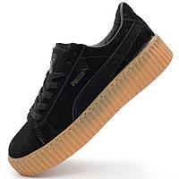 Женские кеды Puma Rihanna черные