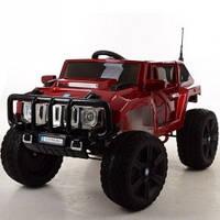 Детский электромобиль Bambi Hummer M 3570 EBLRS-3, цвет красный