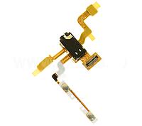 Шлейф с коннектором гарнитуры микрофона, кнопками регулировки громкости, датчиком приближения для LG E610 E612