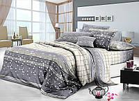 Семейный комплект постельного белья сатин (8168) TM KRISPOL Украина