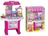 Детская кухня 16641G (плита,духовка,мойка,посуда,продукт)16 предметов