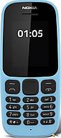 Nokia Телефон Nokia 105 NEW 2SIM Blue 1.8 ' ' nSD 800mAh Моноблок