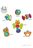 Набор погремушек для малыша 6 шт Huile Toys 939A