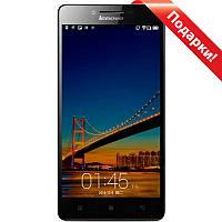 "Смартфон 5"" Lenovo Lemon K3/K30-W, 1GB+16GB Черный 4 ядра Snapdragon камера 8 Мп Android 4.4 + селfи в подарок"