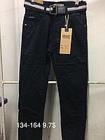 Подростковые котоновые брюки на мальчиков Goloxy(на флисе)