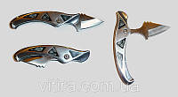 Нож тычковый явара раскладной., фото 1