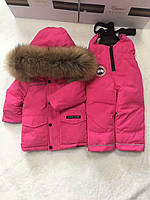 CANADA GOOSE зимний детский костюм для девочек