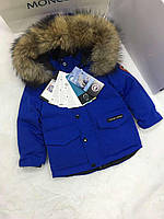 Зимний детский пуховик для детей Canada Goose