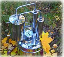 """Дистиллятор бытовой """"Экстра"""" бак 24 литра, нержавейка с двумя царгами"""