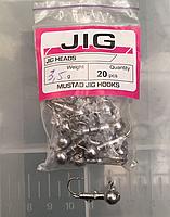 Mustad Jig Джиг-головка 3,5г (20шт)