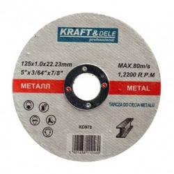Металлический диск 125x1,0x22,23 KD972, фото 2