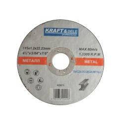 Металлический диск 115x1,2x22,23 KD971, фото 2