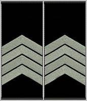 """Погоны """"Старший сержант"""" на липучке"""