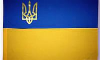 Флаг Украины большой 90х135см