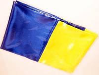 Флаг Украины большой атлас 0,90х1,35м