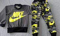 """Спортивный костюм """"Nike"""" (зеленый) р. 28 - р. 32"""