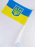 Флаг Украины малый на липучке