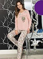 Женская пижама Shirly 21113, костюм домашний с брюками