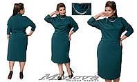 Платье женское итальянский трикотаж   Размеры:48, 50, 52, 54, 56