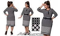 Платье женское трикотаж Размеры 52,54,56,58,60,62