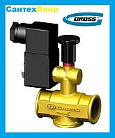 Клапан электромагнитный  для отключения газа КЭИ Гросс 25